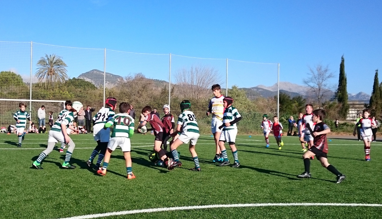 Bocs Rugby. Categoria Sub 10.