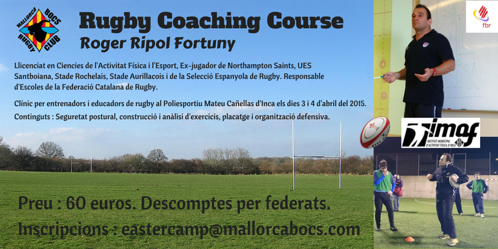 Rugby Coaching Course 2015